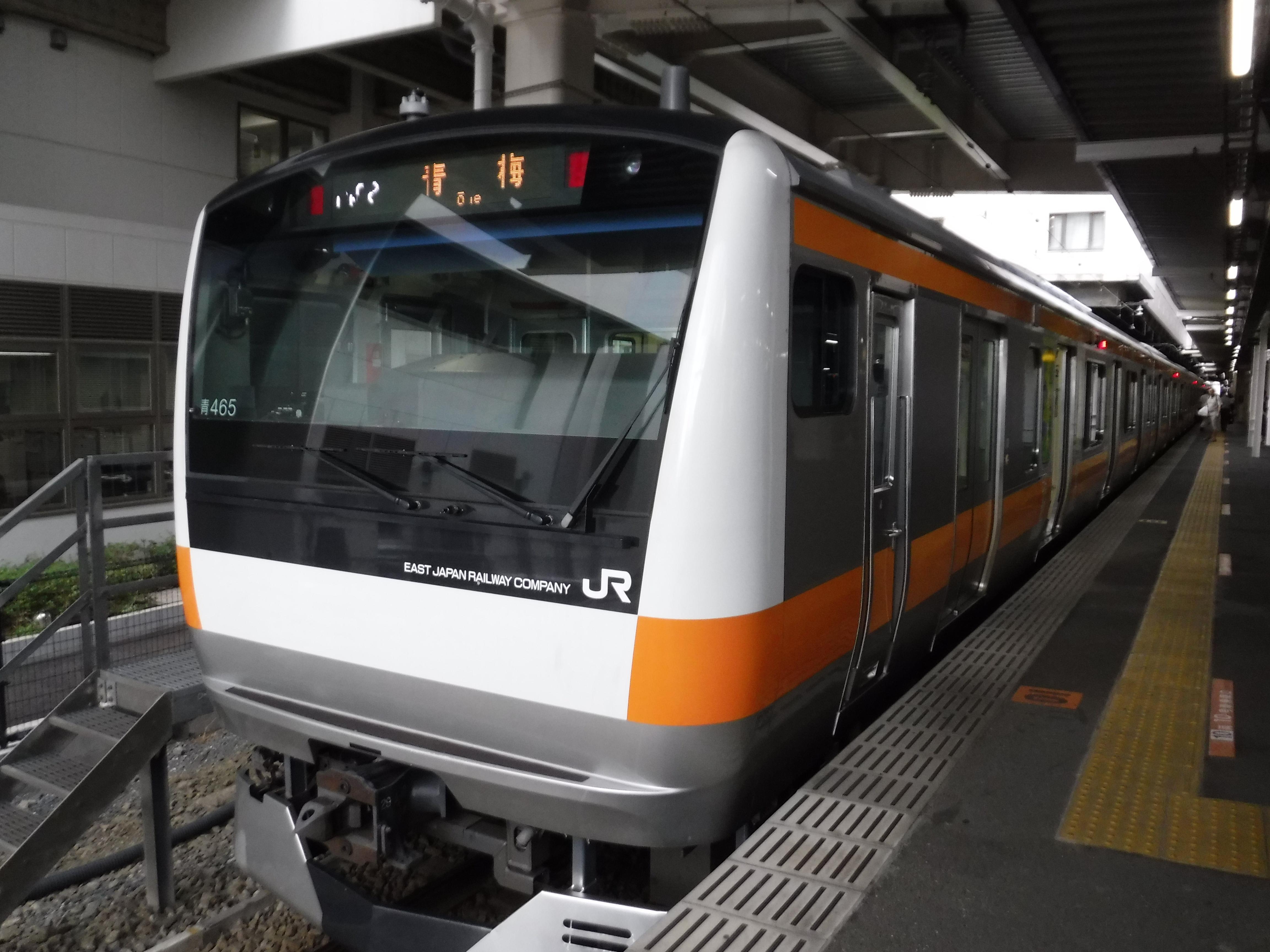 2018.7.4鉄道レポート:青梅線ラッピング電車乗車レビュー・Mue-Train立川で目撃