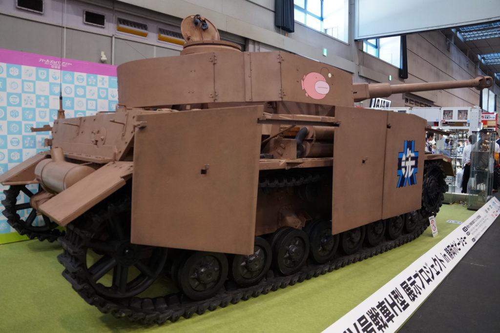 ガールズ&パンツァー Ⅳ号戦車D型