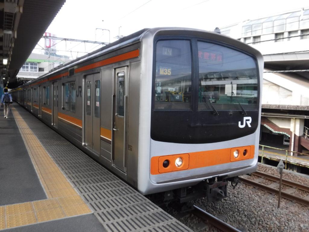 武蔵野線205系M35編成