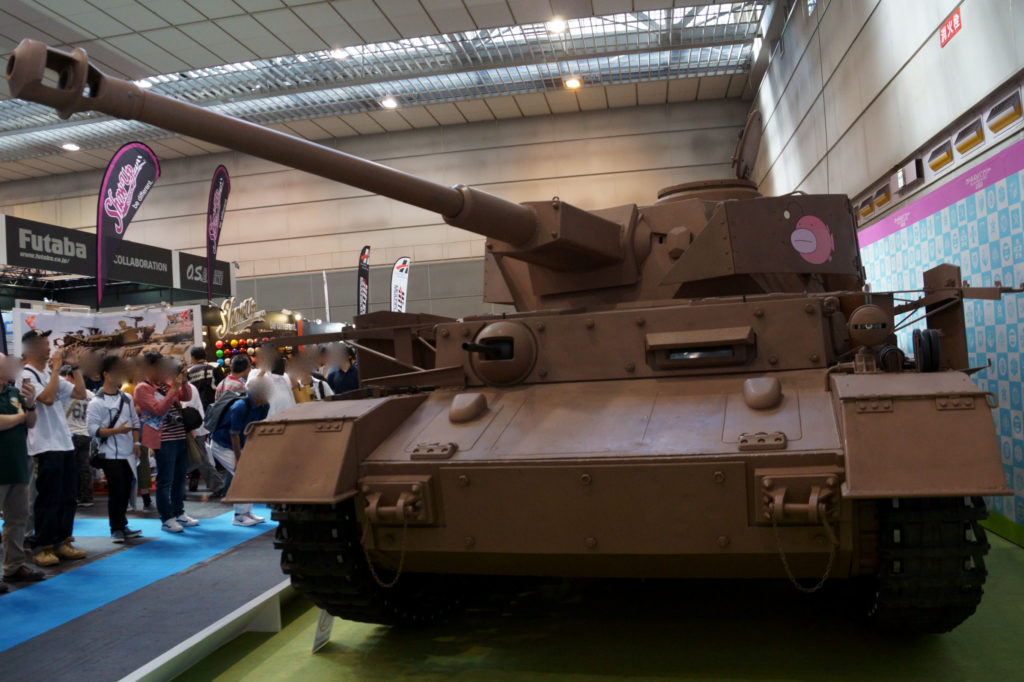 ガールズ&パンツァー Ⅳ号戦車D型 正面