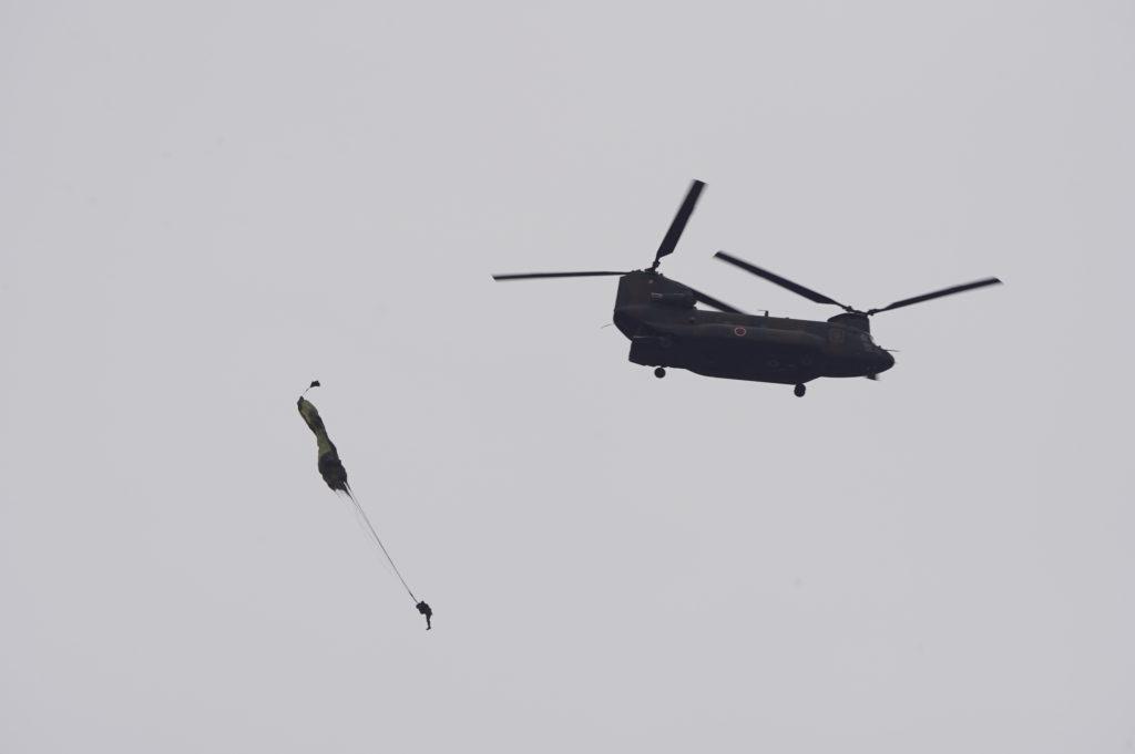 CH-47JA自由降下